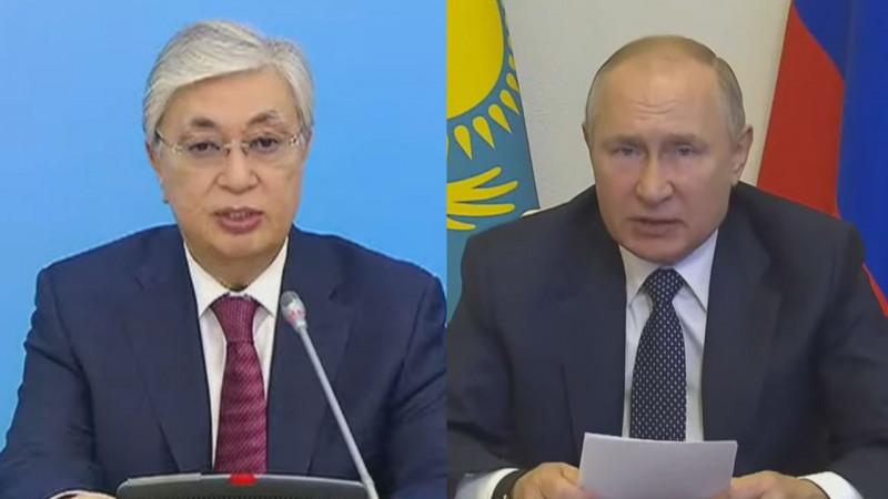 Путин предложил Казахстану поддержку в строительстве АЭС