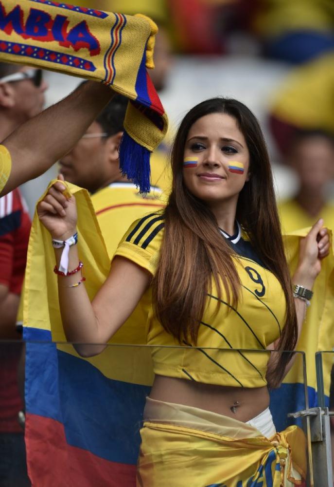 Самая сексуальная болельщица сборной бразилии