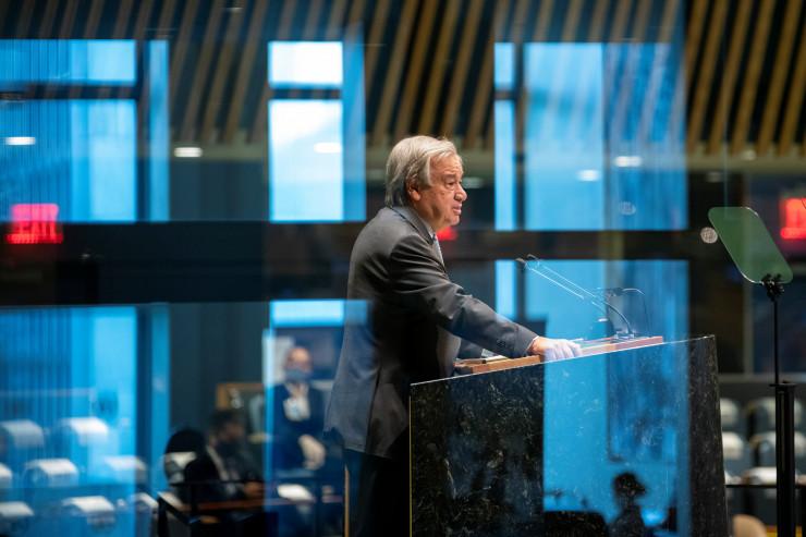 """Генсек ООН заявил о """"пятом всаднике апокалипсиса""""23 сентября 2020, 02:27"""