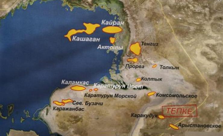 Крупнейшее за 30 лет месторождение нефти открыли в Казахстане