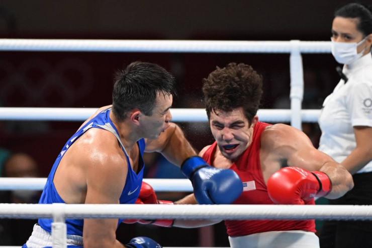 Четвертая бронза: Камшыбек Кункабаев не смог выйти в финал Олимпиады-2020: 04 августа 2021, 12:39 - новости на Tengrinews.kz