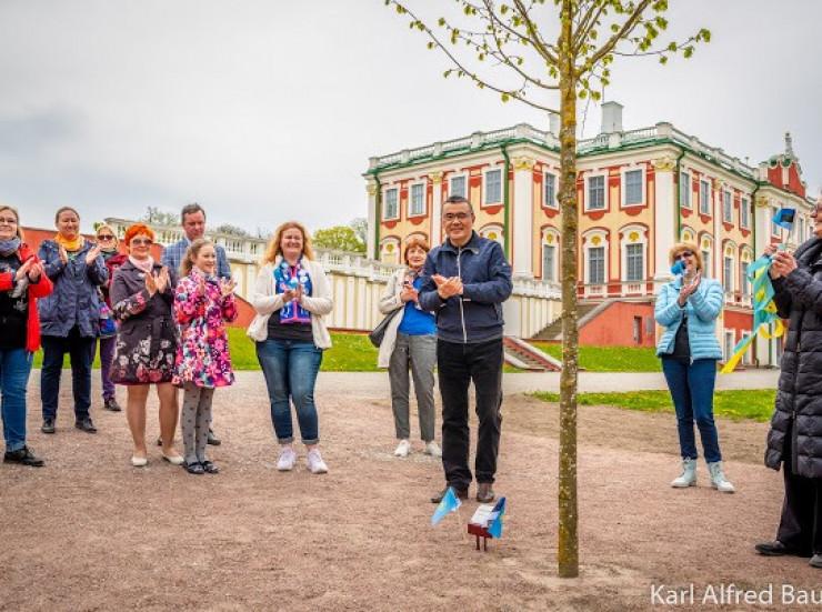 Памятный знак установили в честь Димаша Кудайбергена в Таллине, фото-3