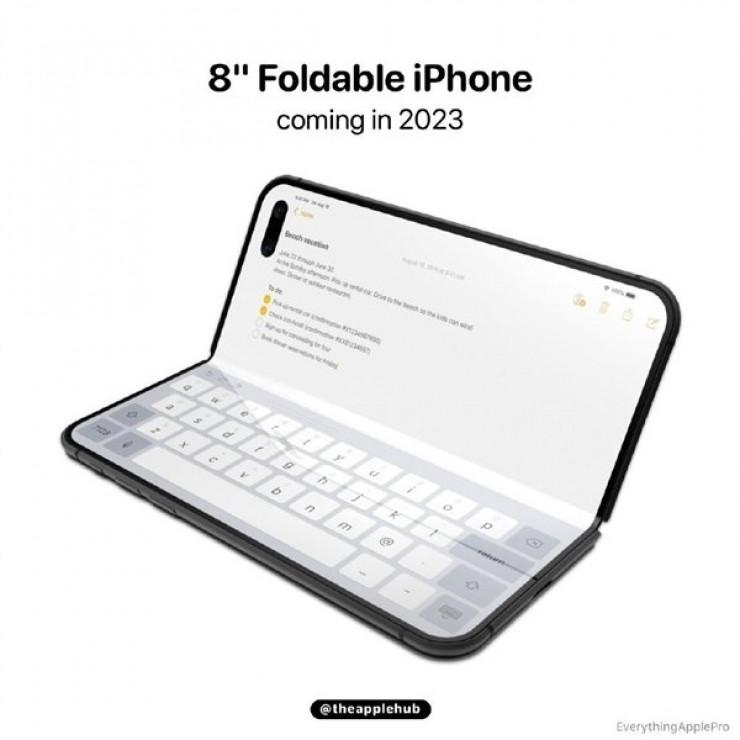 Возможный дизайн самого большого iPhone появился в Сети