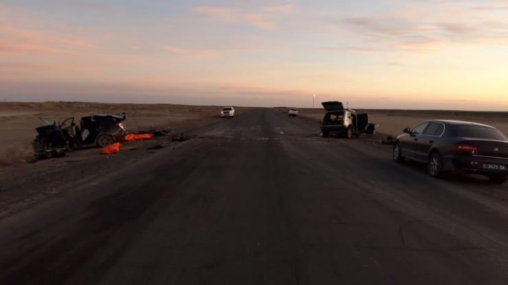 Пять человек погибли в ДТП на трассе Атырауской области 2