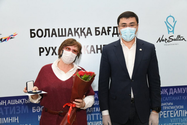 """Трехлетние итоги """"Рухани жаңғыру"""" подвели в столице01 октября 2020, 20:02"""
